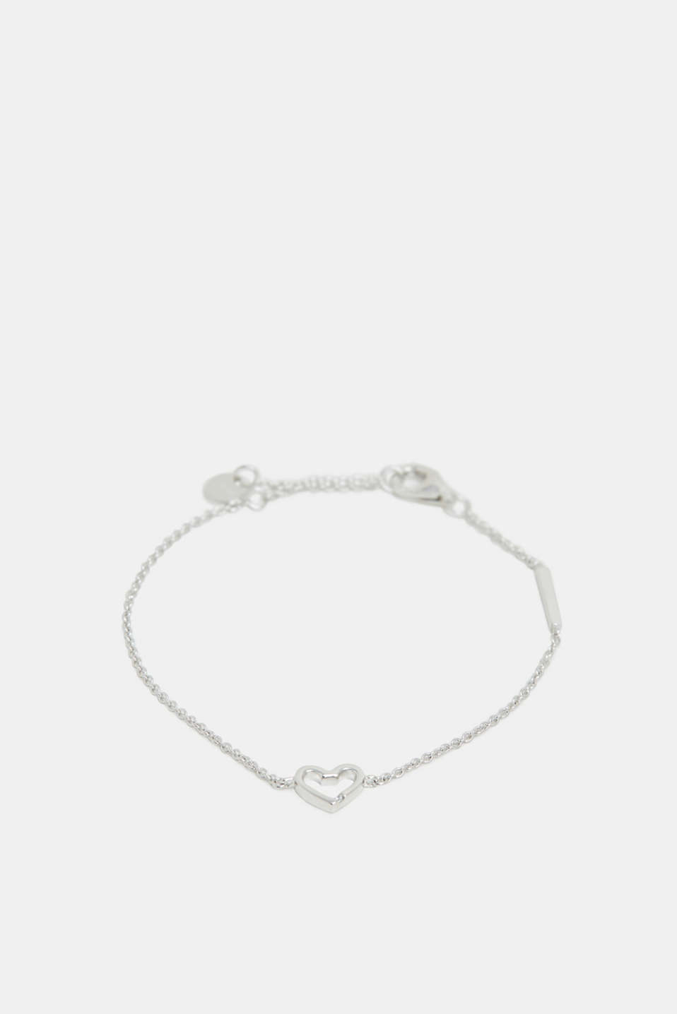 Esprit - Bracelet with a heart pendant, sterling silver