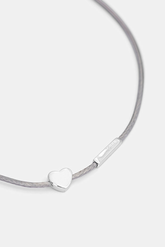 Bracelet with pendants in sterling silver, SILVER, detail image number 1
