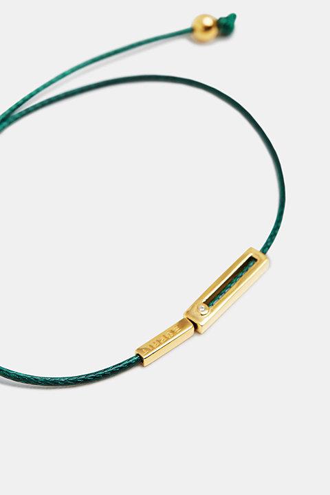 Bracelet with pendants in sterling silver