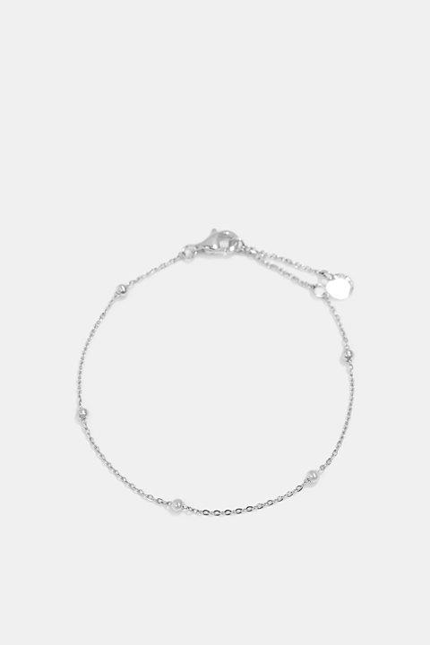 Delicate stainless steel bracelet