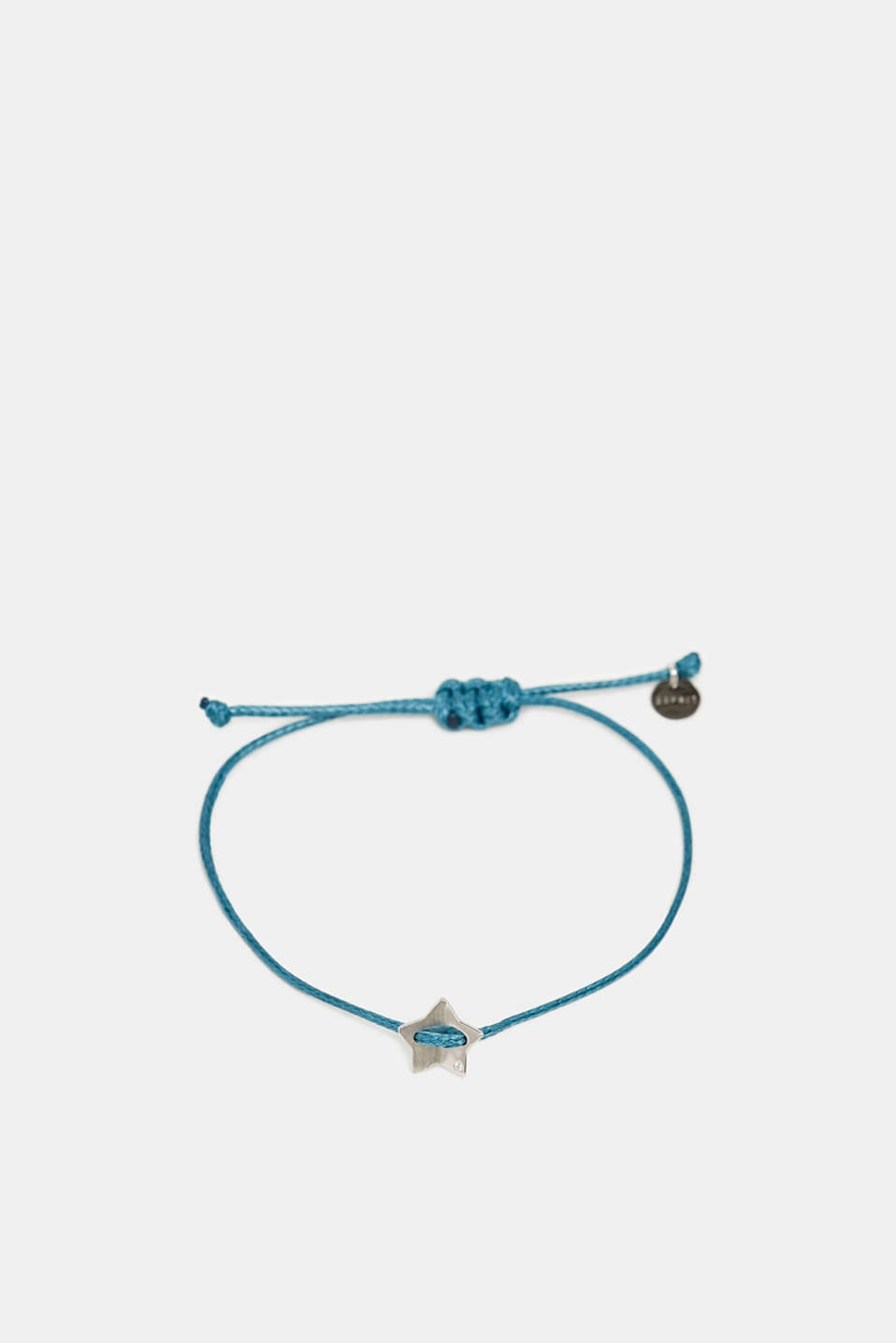 Textile bracelet with star pendants, BLUE, detail image number 0