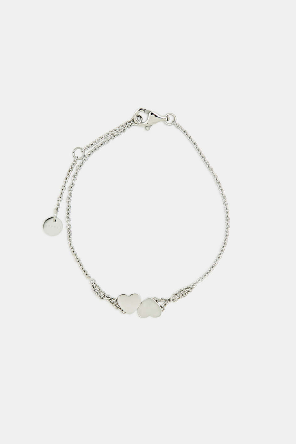 Esprit - Bracelet with heart charm, stainless steel