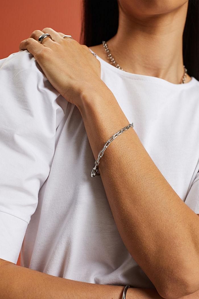 Bracelet à maillons en acier inoxydable