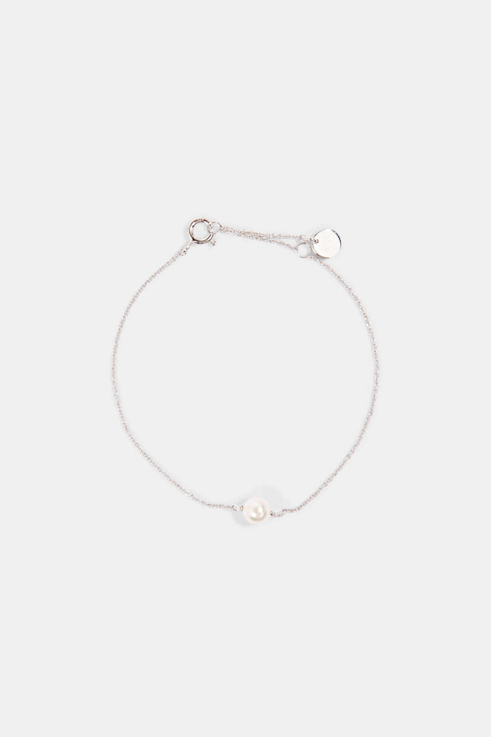 Esprit - Fine, faux pearl detail bracelet made of sterling silver