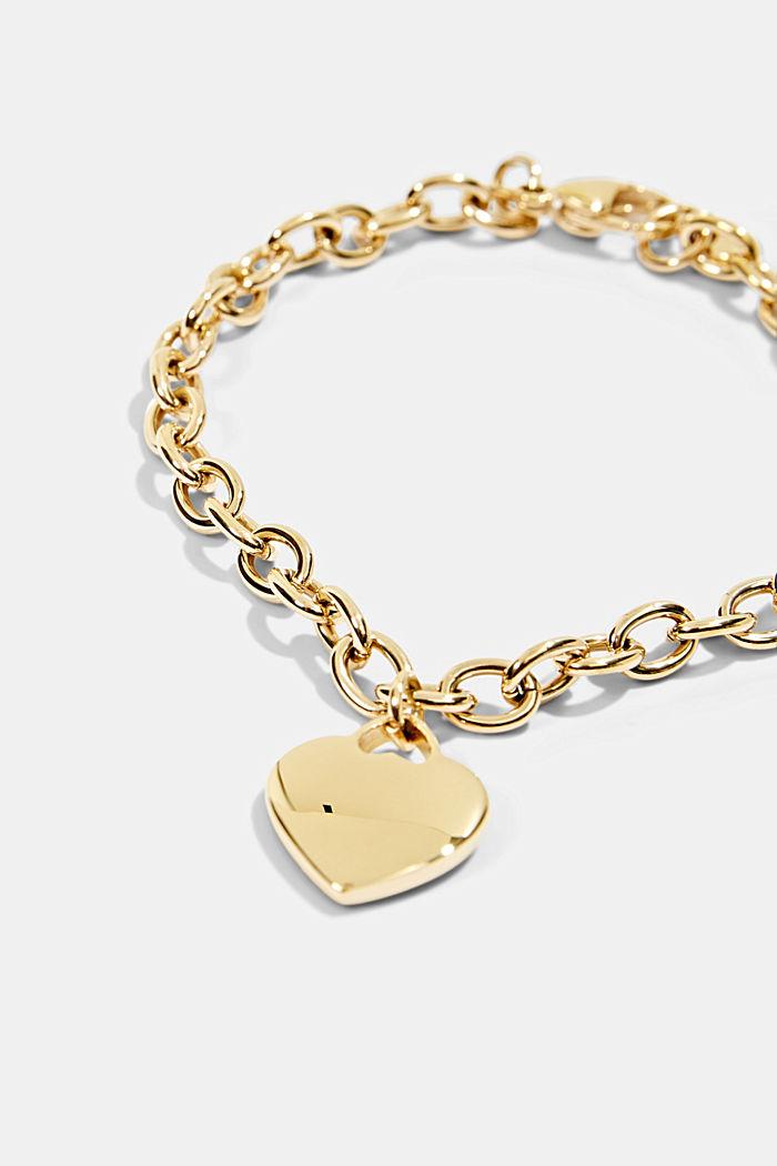 Bracelets steel, GOLD, detail image number 1