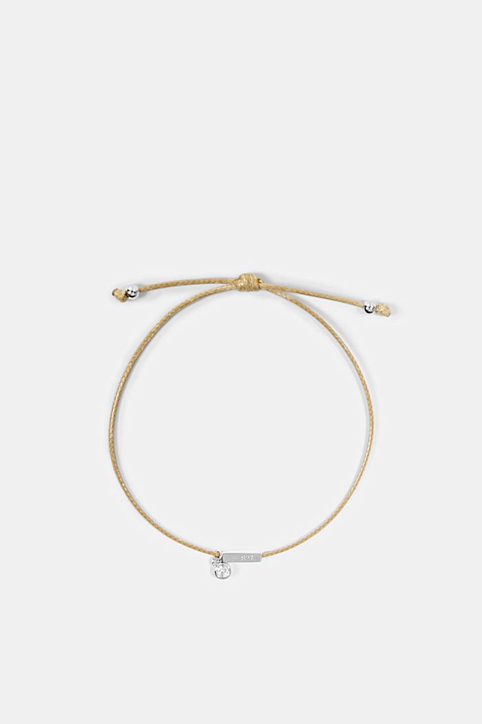 Bracelet à pendentif en argent sterling, SILVER, detail image number 0