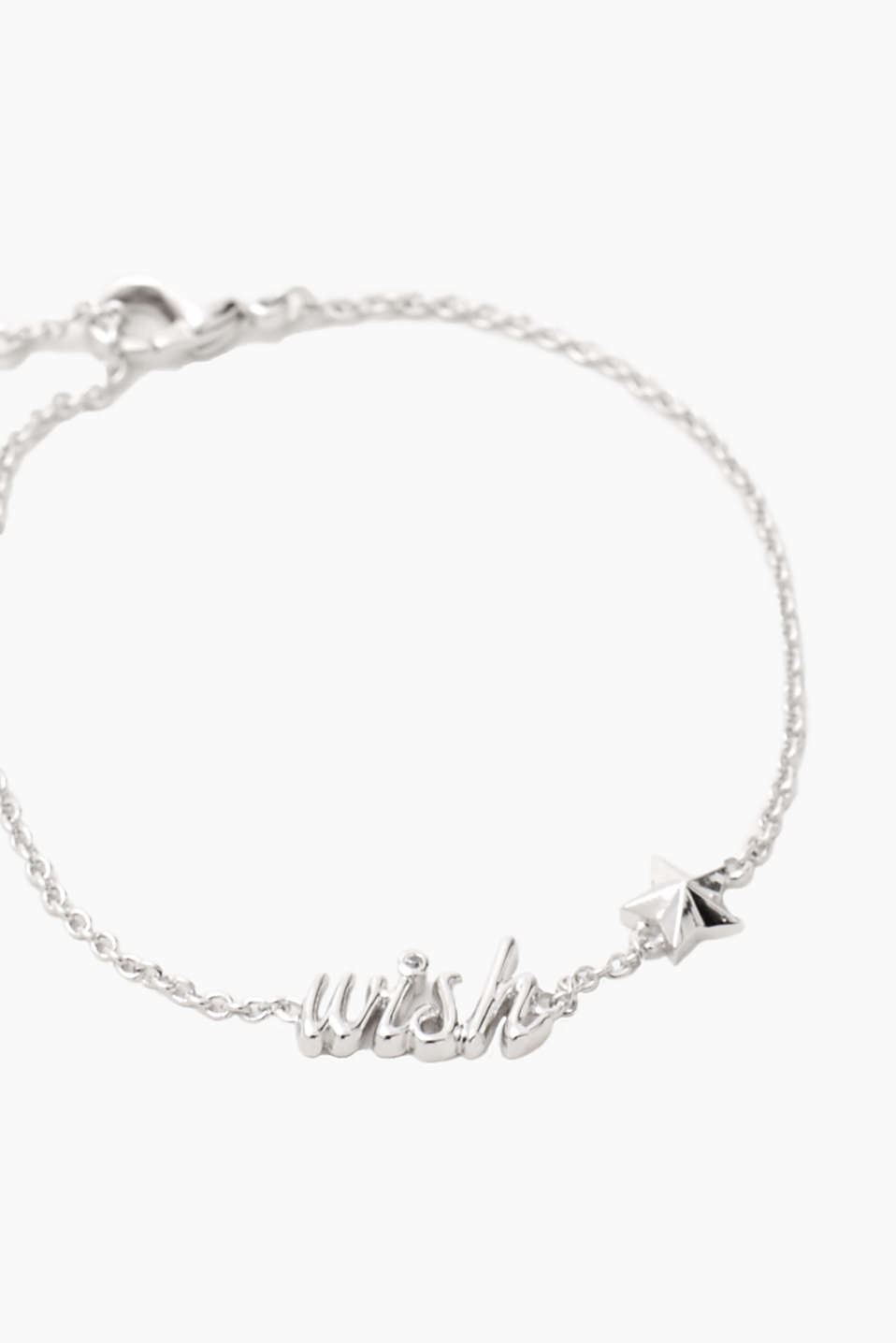 Metal bracelet with a wishing star
