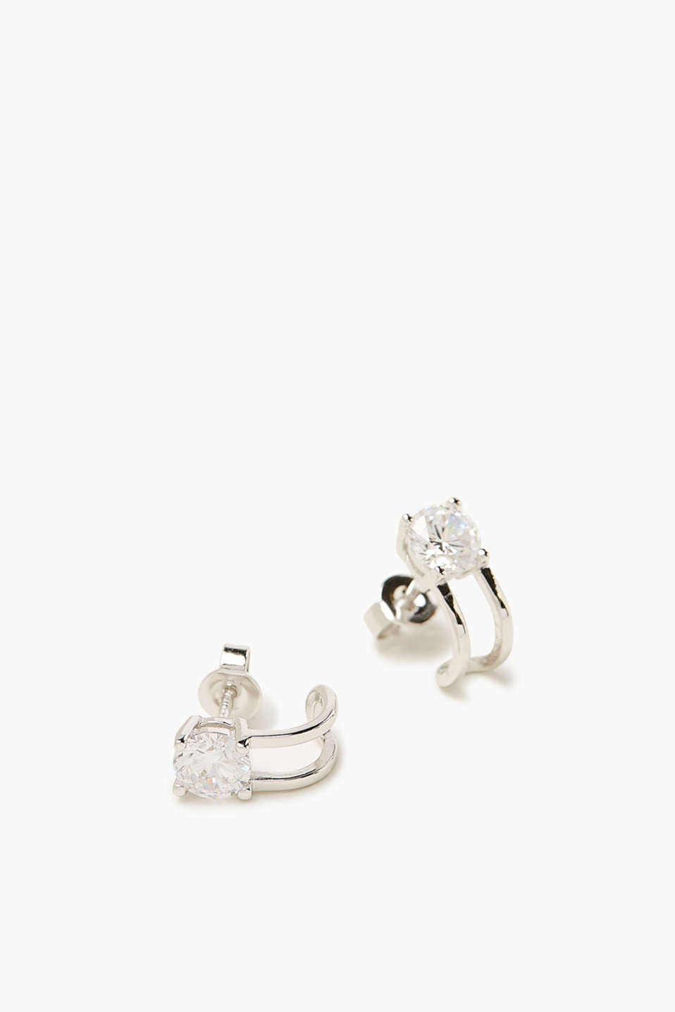 Esprit - Earrings with zirconia, sterling silver