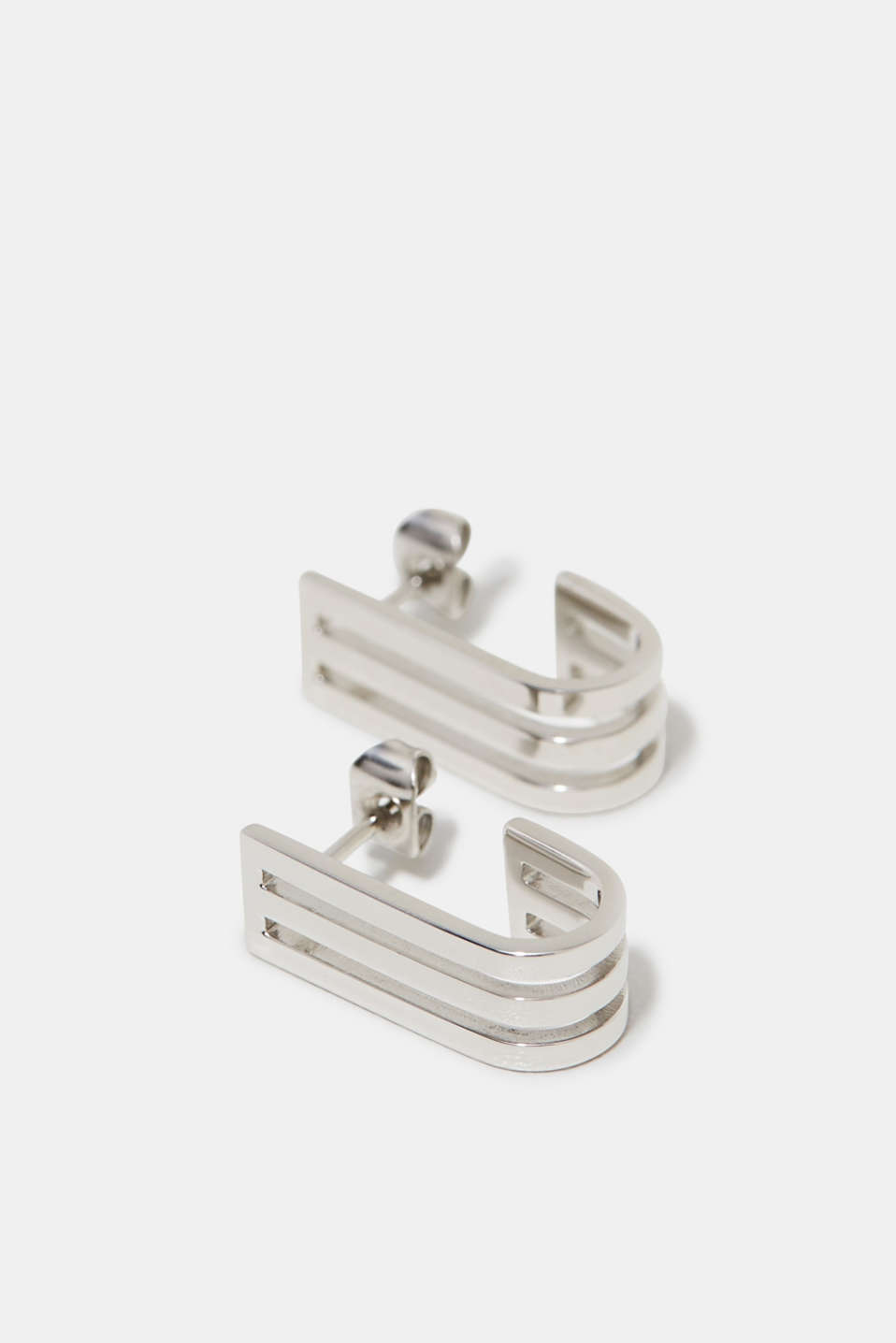 Esprit - Stainless steel earrings in a silver tone