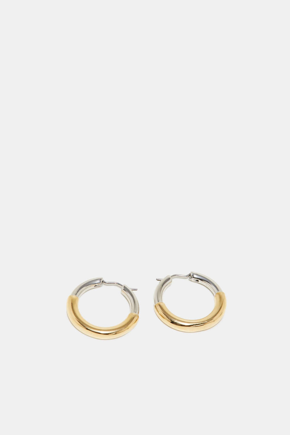 Esprit - Stainless-steel hoop earrings
