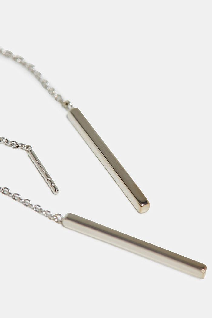 Boucles d'oreilles en argent sterling, SILVER, detail image number 2