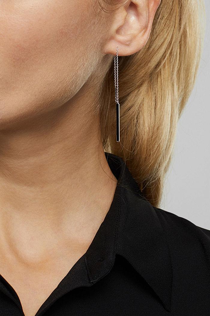 Ohrringe in Sterling Silber
