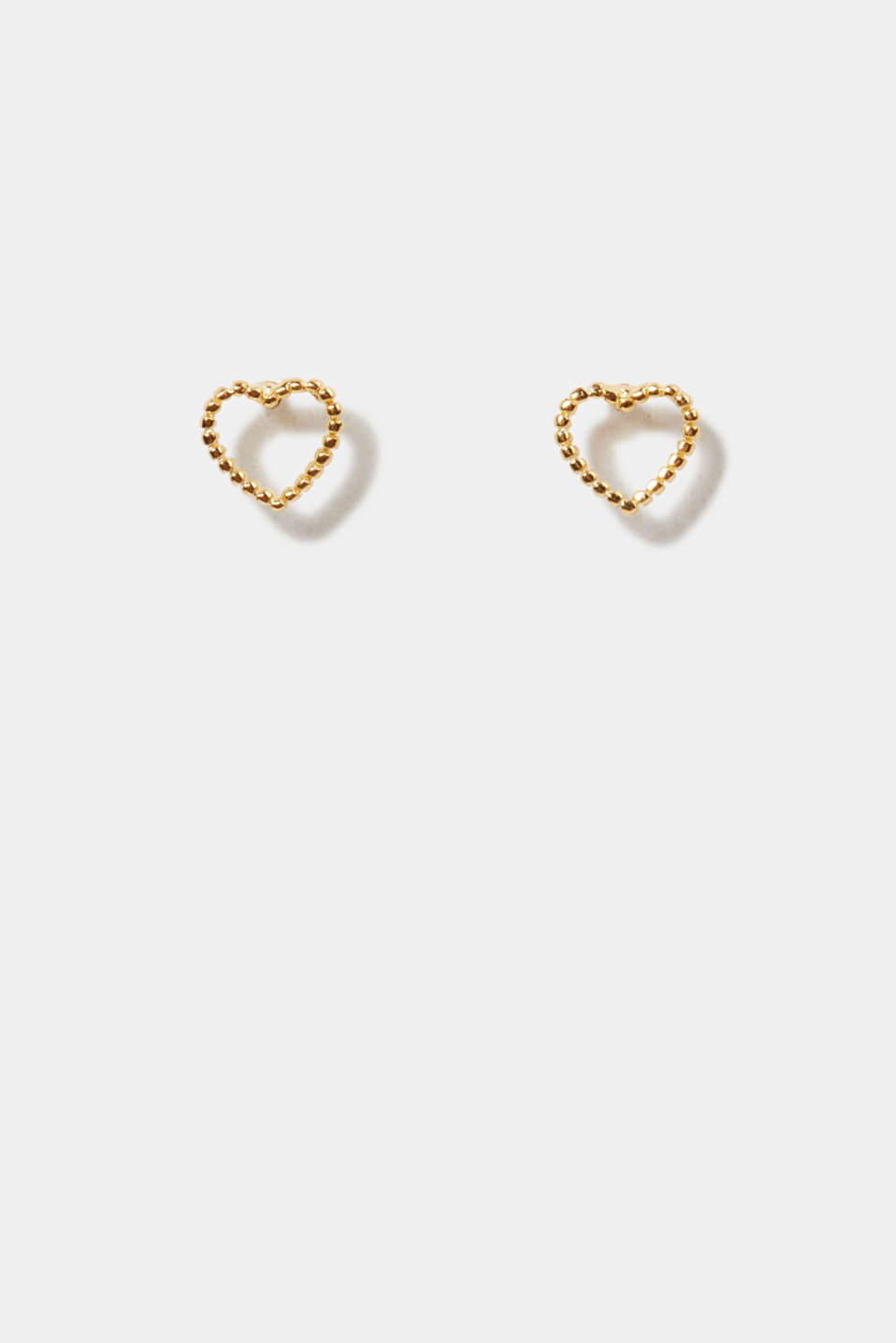 Esprit - Delicate heart-shaped stud earrings, sterling silver