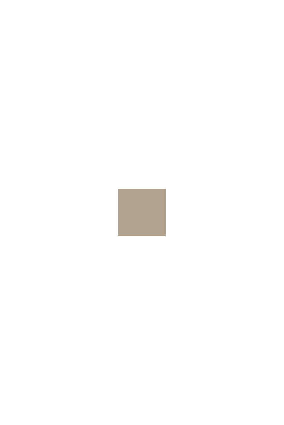 Créoles bicolores en acier inoxydable, GOLD, swatch