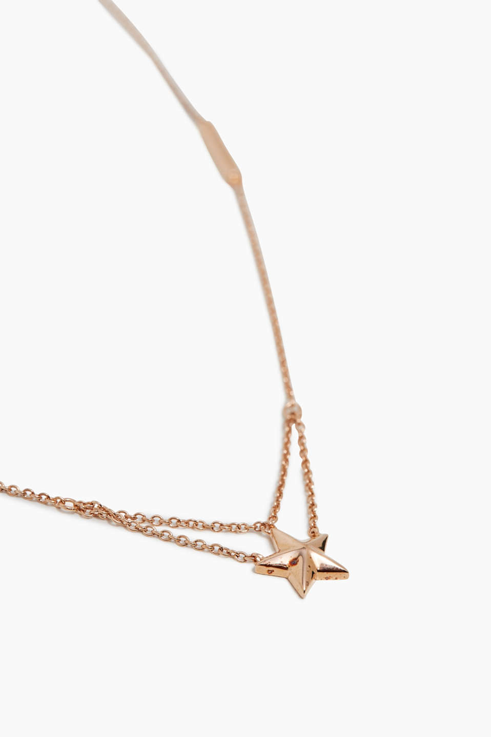 Esprit - Star pendant necklace, sterling silver