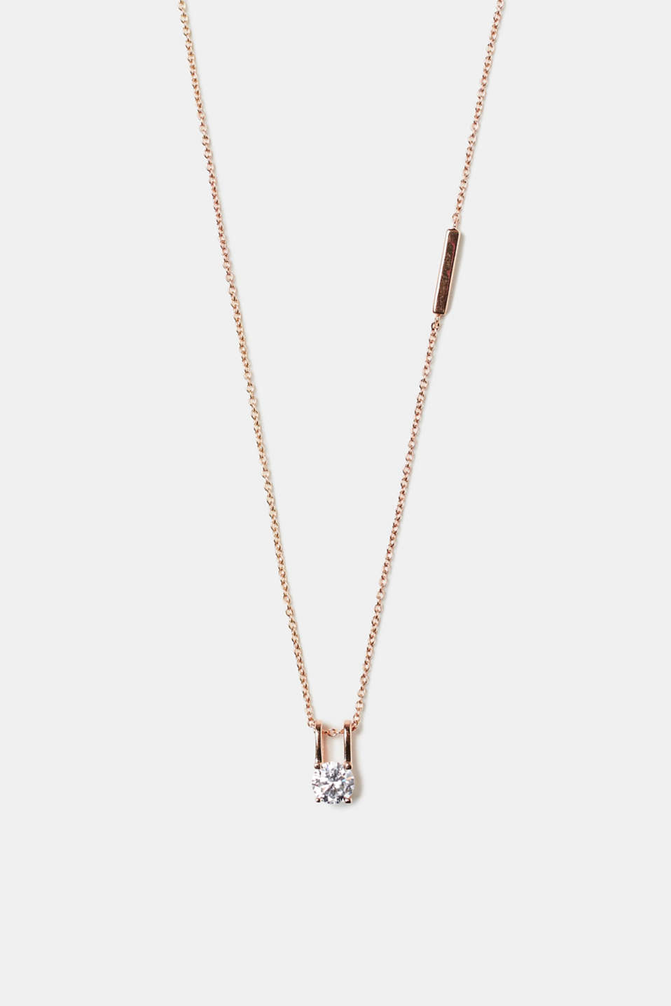 Esprit - Fine necklace with pendant in rose gold