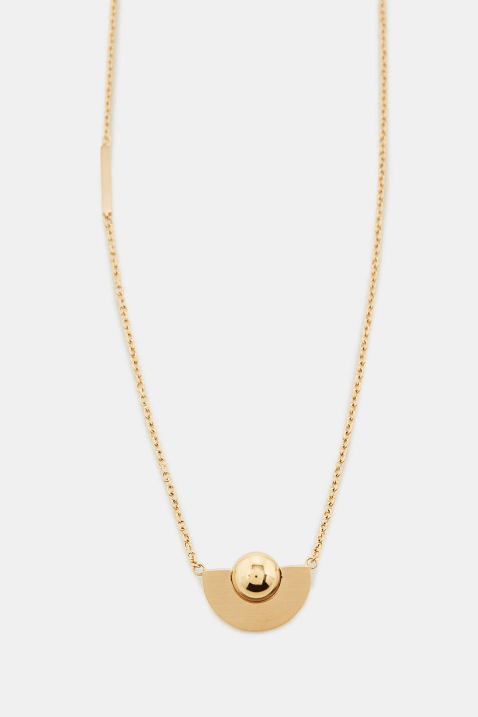 Esprit - Fine necklace with a yellow gold pendant