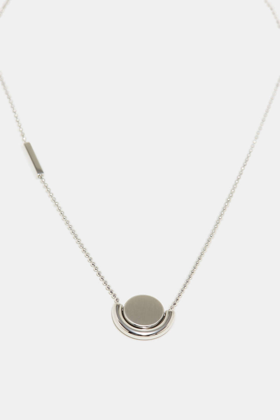 Esprit - Stainless-steel necklace with a rotating pendant