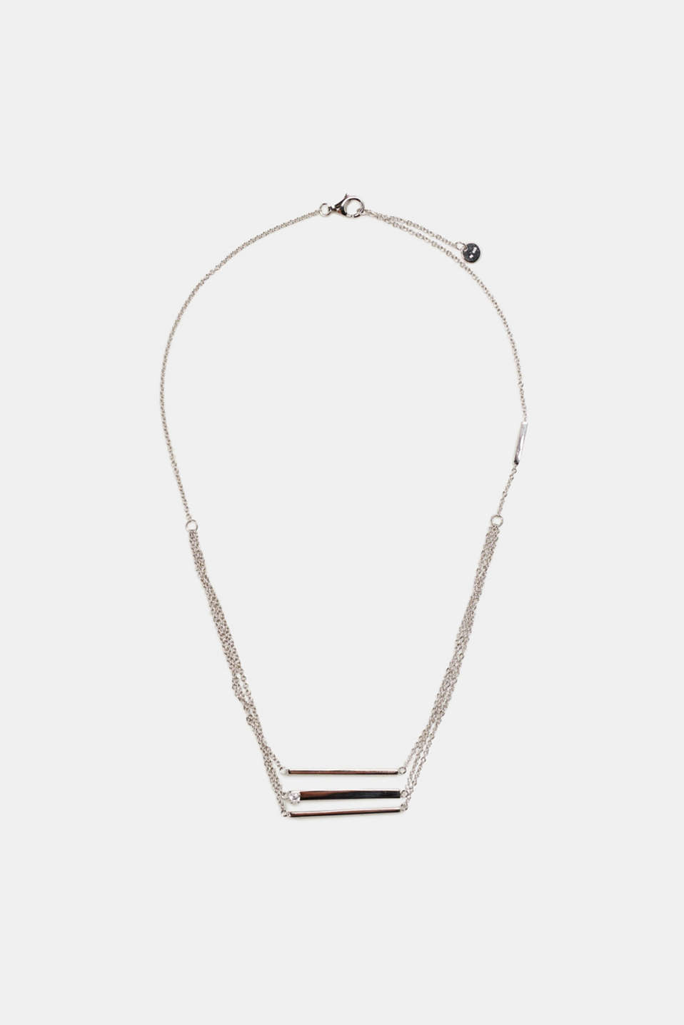 Esprit - Multi-strand sterling silver necklace