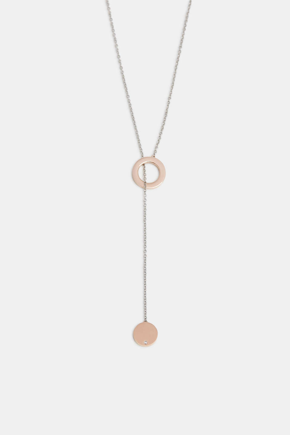 Esprit - Pendulum necklace in stainless steel