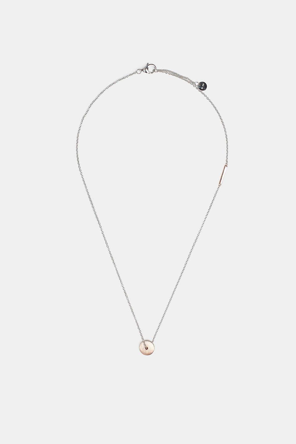 Necklaces silver, ROSEGOLD, detail image number 0