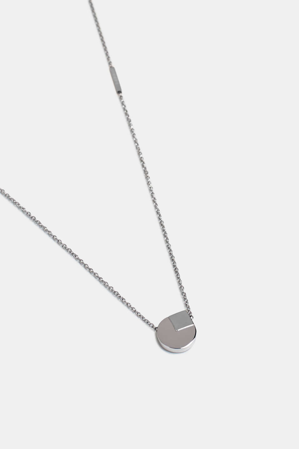 Necklaces steel, SILVER, detail image number 1