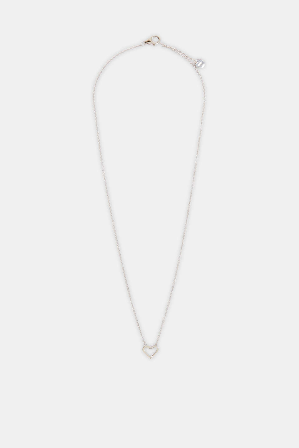 Esprit - Necklace with a heart pendant, sterling silver