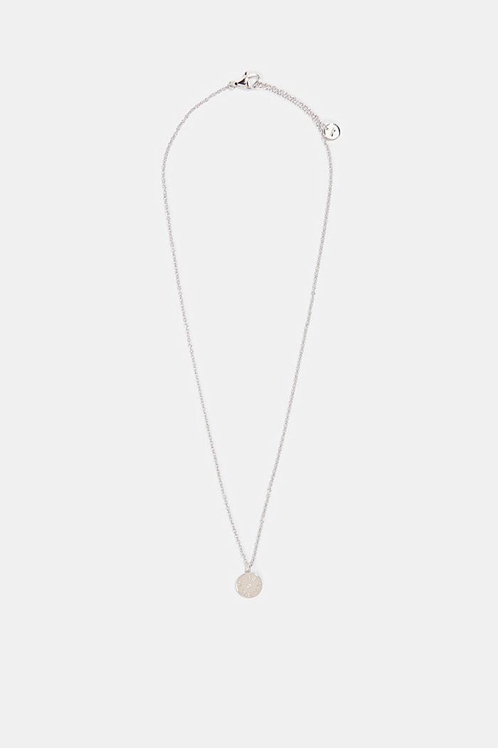 Met diamantje: ketting van sterlingzilver, SILVER, detail image number 0