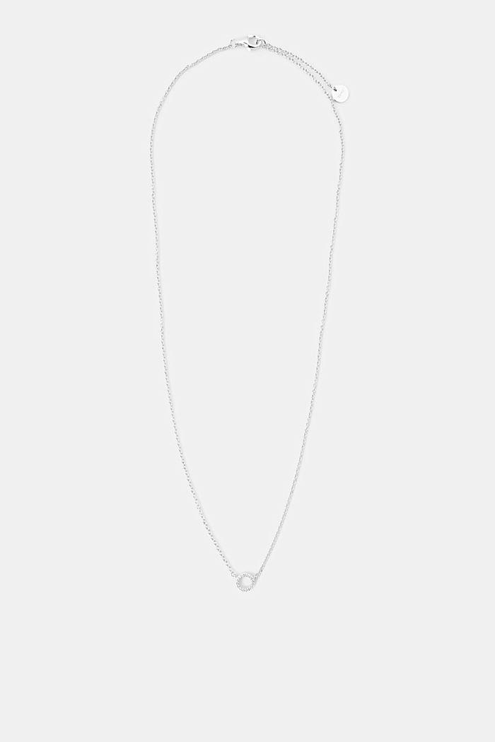 Ketting van sterlingzilver met hangertjes, SILVER, detail image number 0
