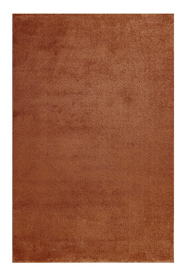 Kurzflor-Teppich in modernen uni Farben