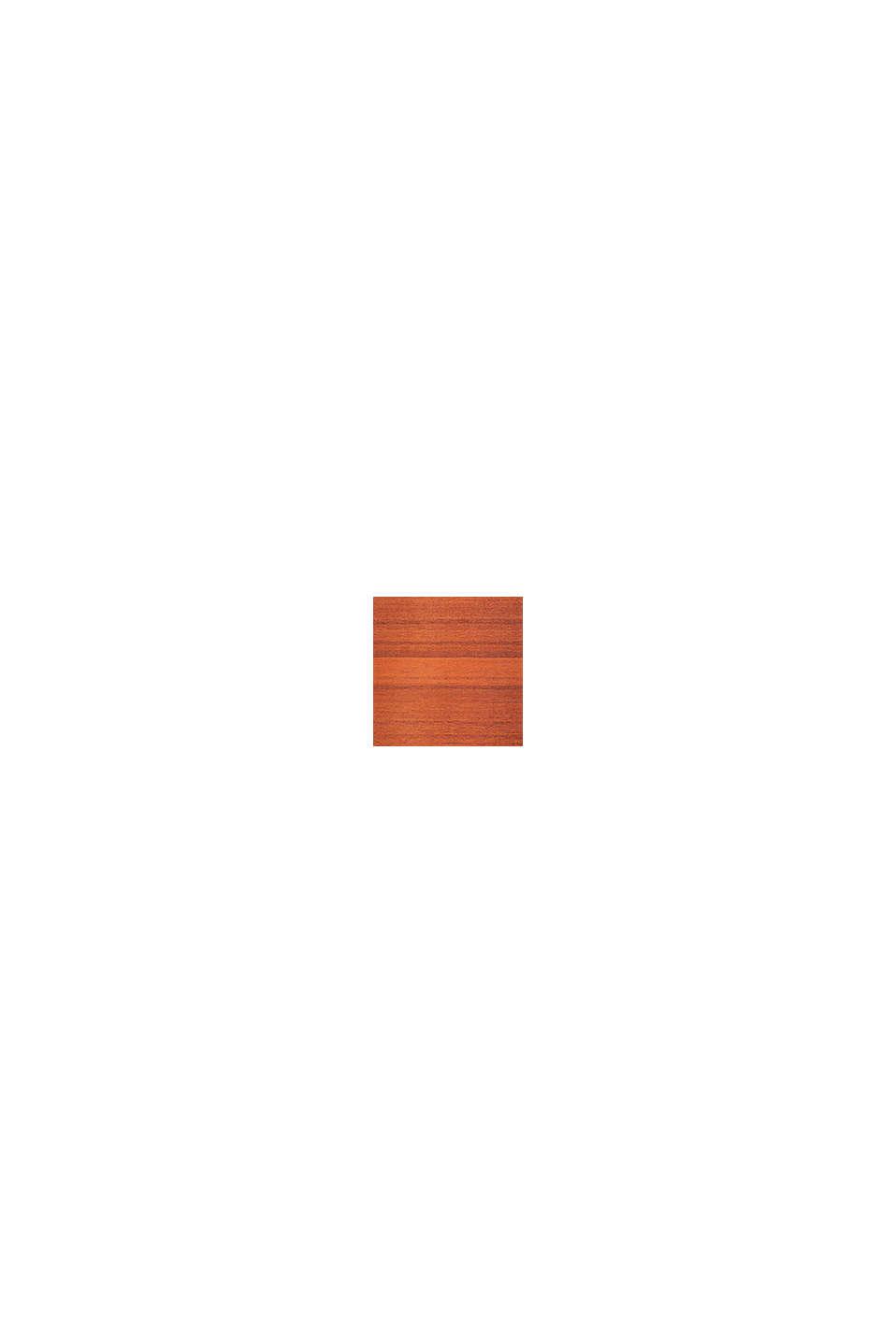 Kurzflor-Teppich mit Streifenmuster, RED ORANGE, swatch