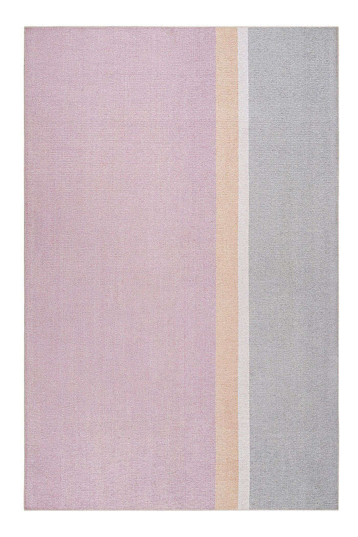 Kurzflor-Teppich mit upgecycelter Baumwolle, OLD PINK, detail image number 0