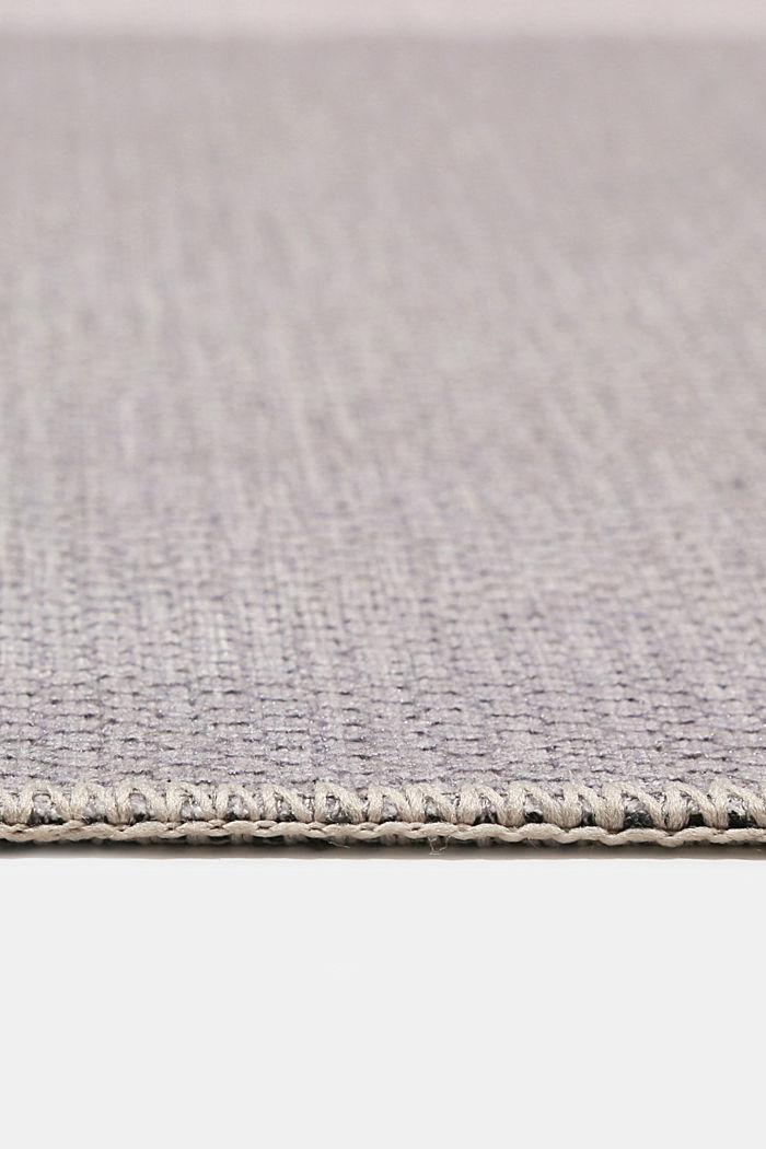 Kurzflor-Teppich mit upgecycelter Baumwolle, OLD PINK, detail image number 5