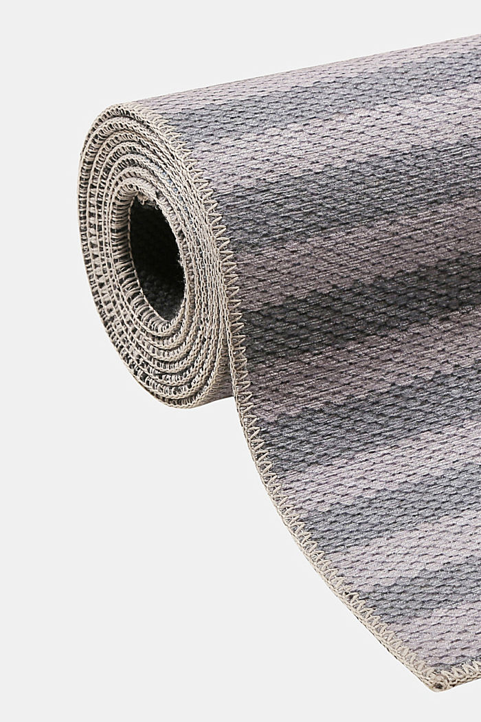 Kurzflor-Teppich mit upgecycelter Baumwolle, LIGHT BLUE, detail image number 6