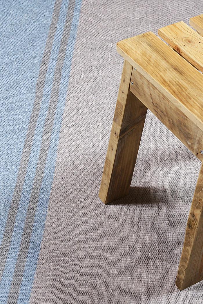 Kurzflor-Teppich mit upgecycelter Baumwolle, LIGHT BLUE, detail image number 1