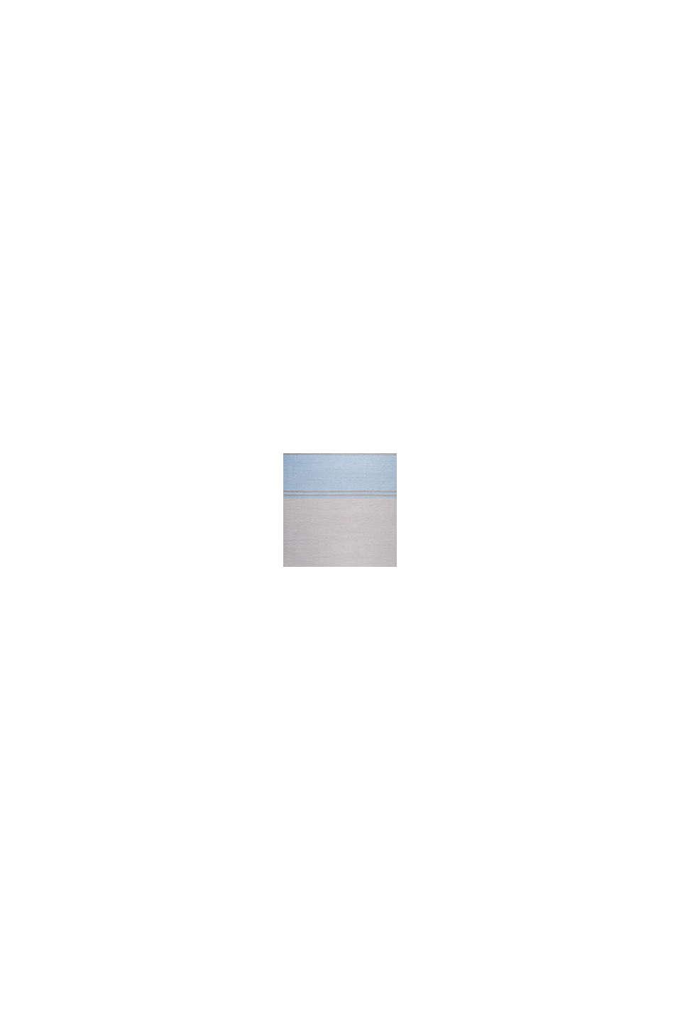 Kurzflor-Teppich mit upgecycelter Baumwolle, LIGHT BLUE, swatch
