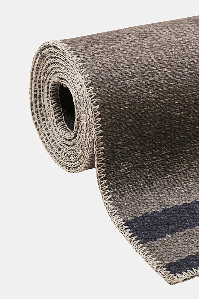 Kurzflor-Teppich mit upgecycelter Baumwolle, OLD PINK, detail image number 3