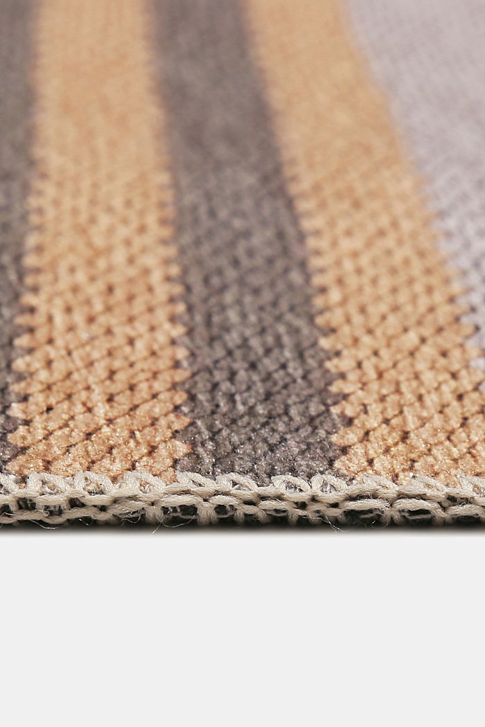 Kurzflor-Teppich mit upgecycelter Baumwolle, PEACH, detail image number 5