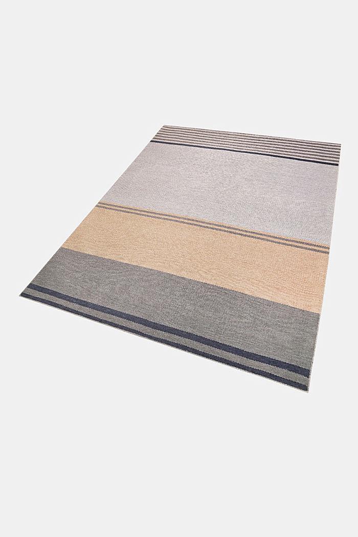 Kurzflor-Teppich mit upgecycelter Baumwolle, PEACH, detail image number 4