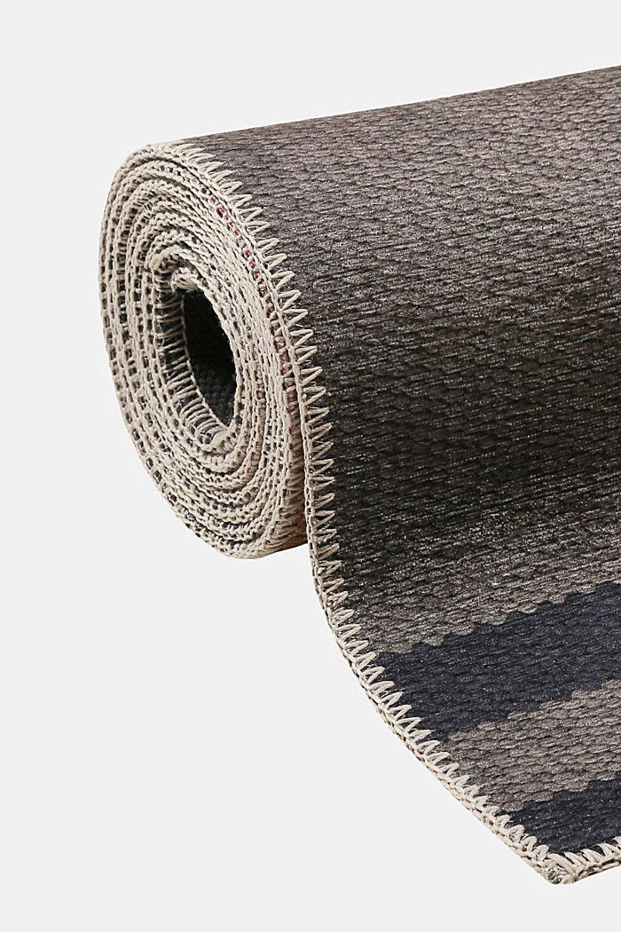 Kurzflor-Teppich mit upgecycelter Baumwolle, PEACH, detail image number 3