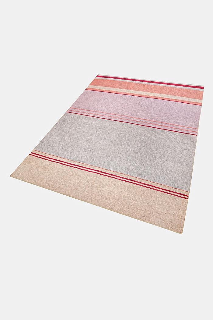 Kurzflor-Teppich mit upgecycelter Baumwolle, PASTEL PINK, detail image number 4