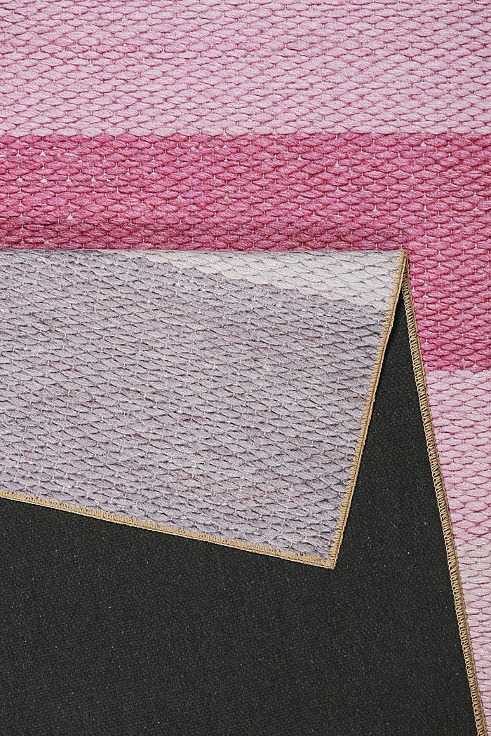 Kurzflor-Teppich mit upgecycelter Baumwolle, PASTEL PINK, detail image number 1
