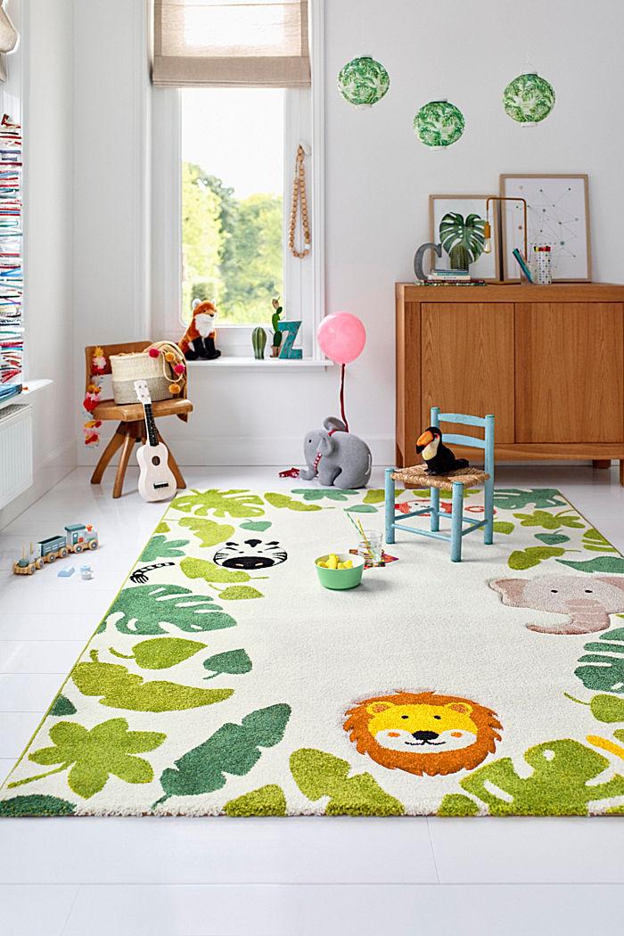 Kinderteppich mit Konturenschnitt
