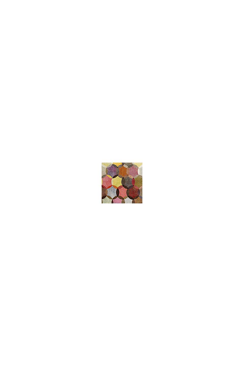 Kurzflor-Teppich mit symmetrischem Muster, BEIGE, swatch