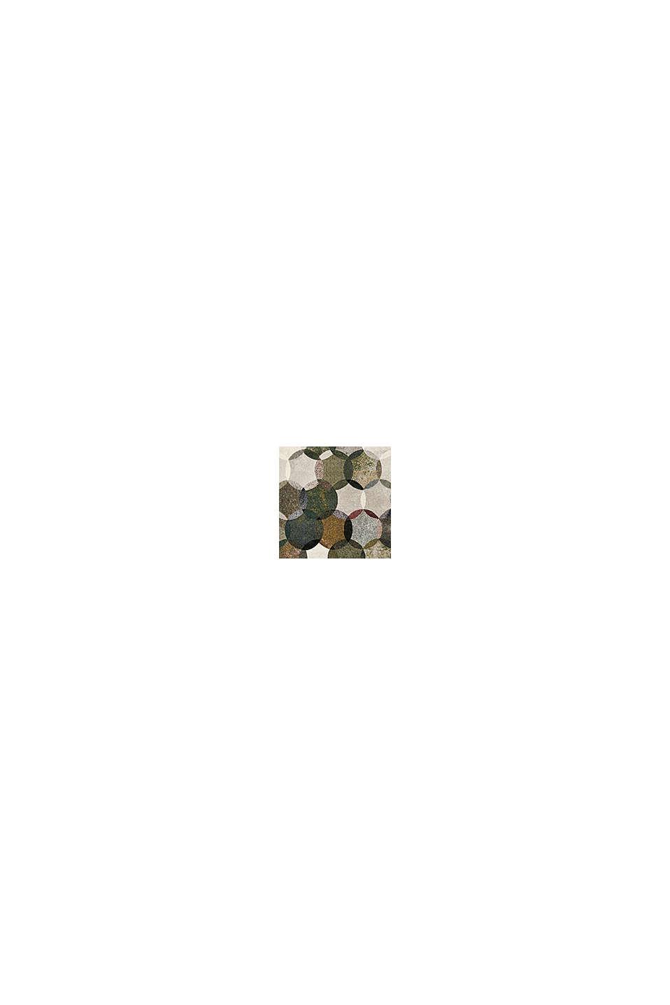 Kurzflor-Teppich mit symmetrischem Muster, OLIVE, swatch