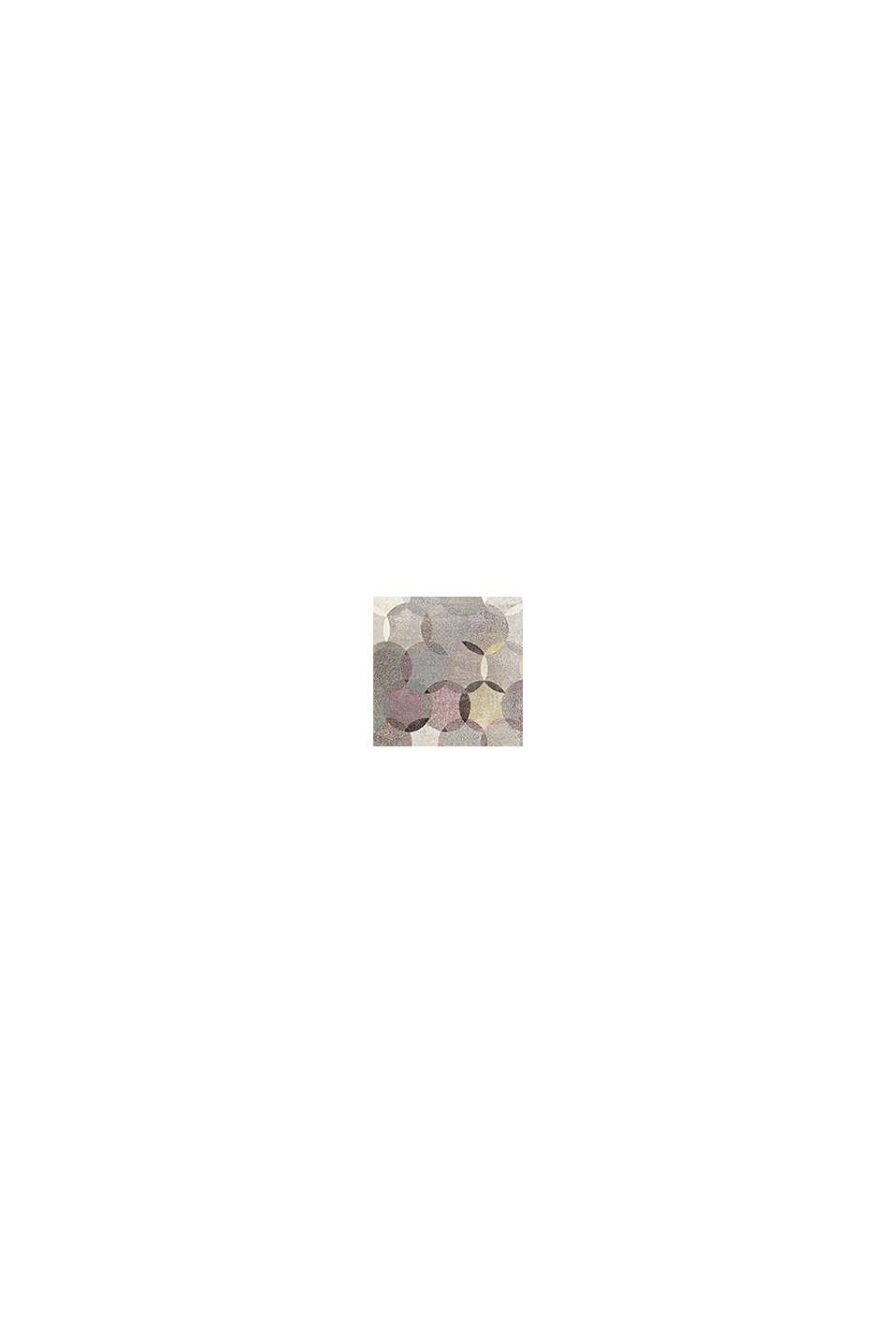 Kurzflor-Teppich mit symmetrischem Muster, PASTEL PINK, swatch