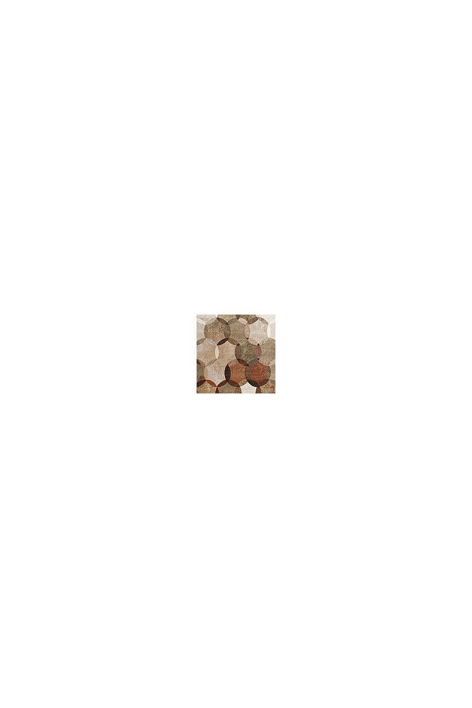 Kurzflor-Teppich mit geometrischem Muster, TOFFEE, swatch
