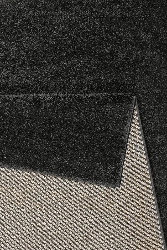 Web-Teppich, einfarbig und weich, ANTHRACITE, detail image number 2