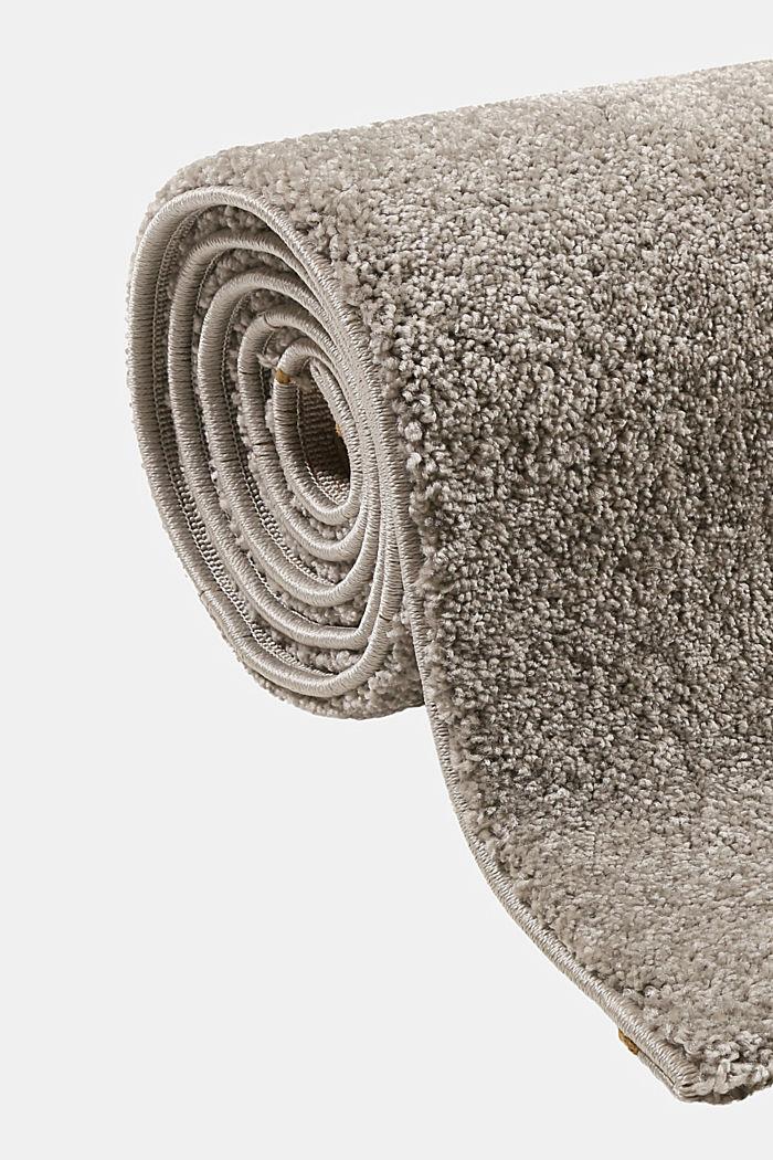 Web-Teppich, einfarbig und weich, GREY, detail image number 3