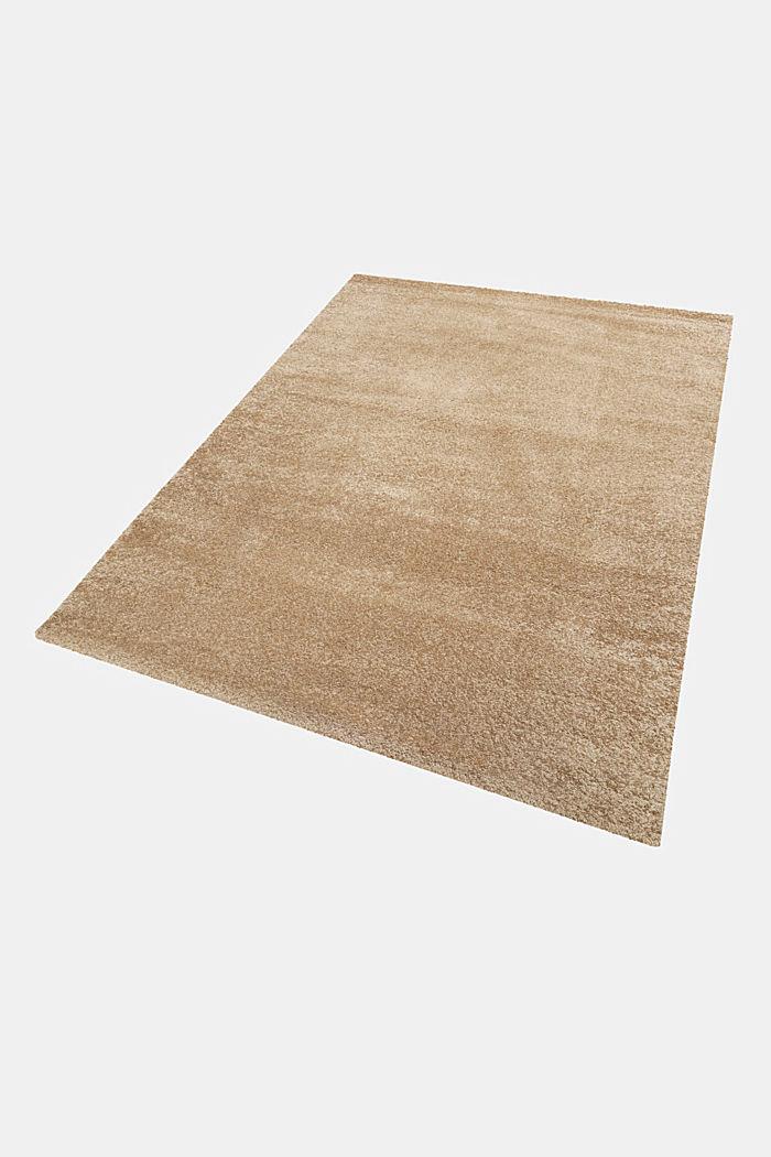 Web-Teppich, einfarbig und weich, BEIGE, detail image number 4